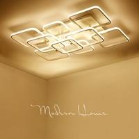 Overhead Modern LED Ceiling Lights at Home Lighting 36W ~ 178W Aluminum Ceiling Luminaire for Living Room Bedroom Luminaria
