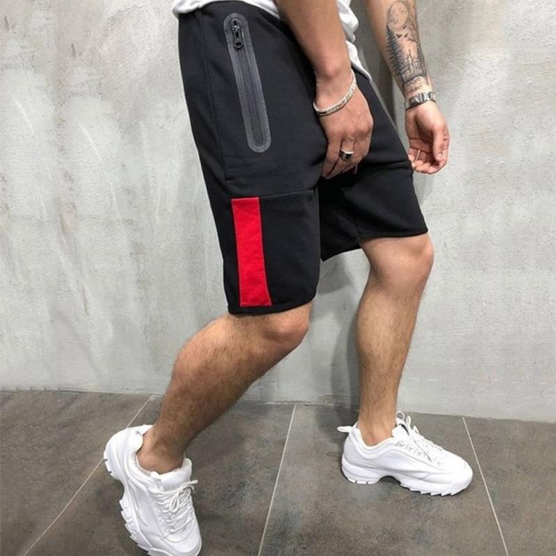 Casual Cotton   Shorts   Summer 2019 Jogger   Shorts   Men Khaki/Zipper   Shorts   Men Bodybuilding Gym Clothing Male