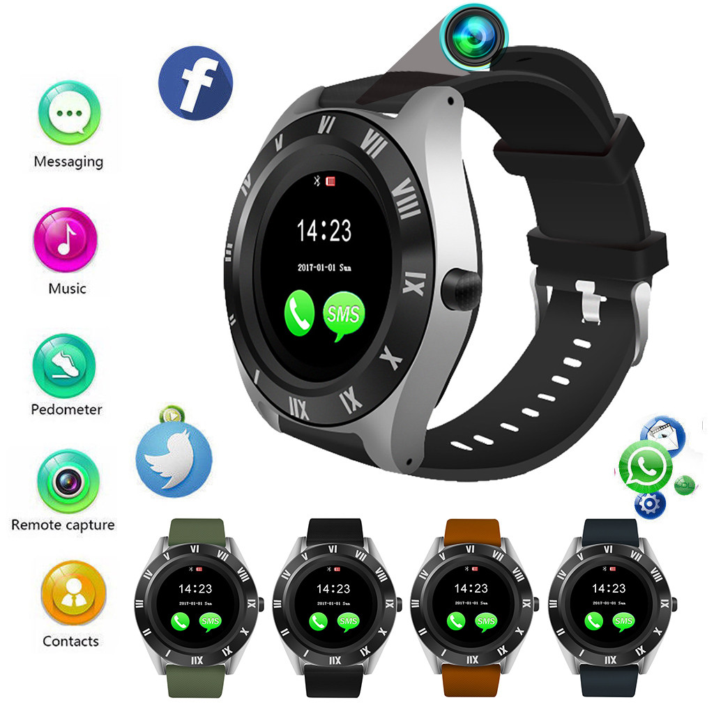 HIPERDEAL  Blueteeth Smart Watch Camera Phone Mate 4G GSM SIM TF Ca For Android For Samsung Fashion Elegant Smart Watch Jy11