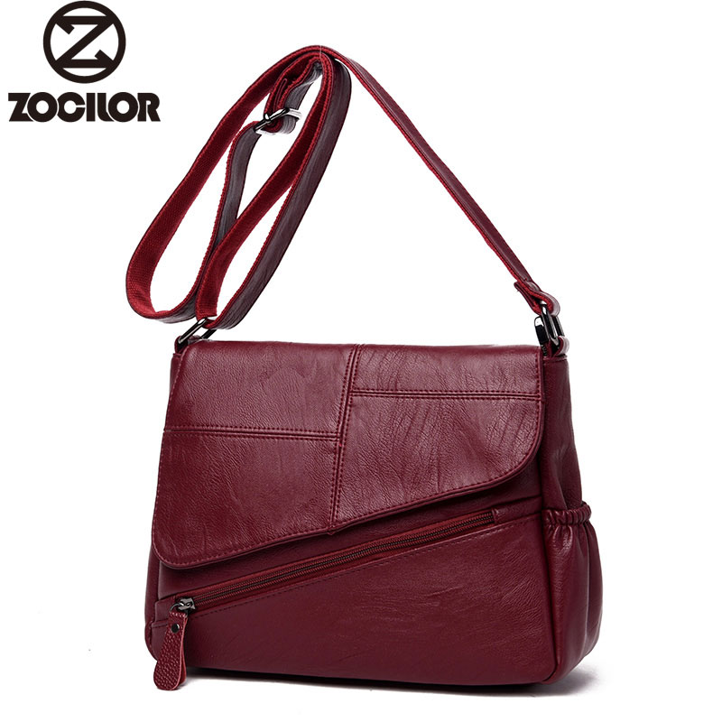 High Quality Leather PU Women's Handbags Fashion Plaid Women Shoulder Crossbody Bags women messenger bag casual shoulder crossbody bags for women 2018 pu leather shoulder bag black gray red fashion simple womens bag high quality