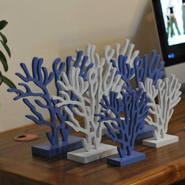Mediterrane Accessoires mediterrane stijl nieuwe moderne decor huwelijkscadeau coral boom