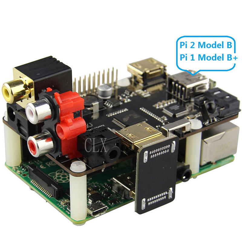 цена на Raspberry Pi X600 DAC Audio Expansion Board Raspberry pi Music Player for Raspberry Pi 3 Model B+ Plus / 3B / Pi 2B/ B+