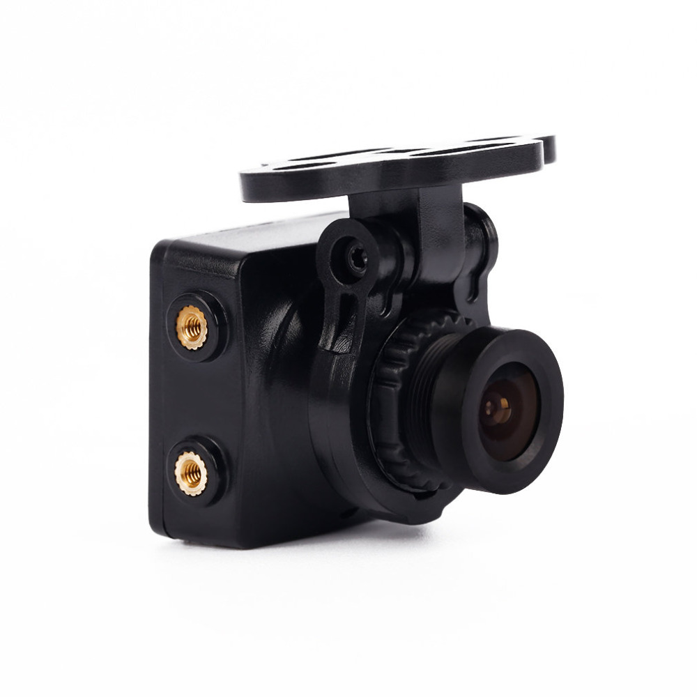 1pcs Black Foxeer Arrow HS1190 FPV NTSC 600TVL 2.8mm CCD Camera Built in OSD & MIC ormino free shipping 2016 new hs1177 upgrade foxeer arrow hs1190 600tvl ccd mini fpv camera with osd 2 8mm lens for fpv drone