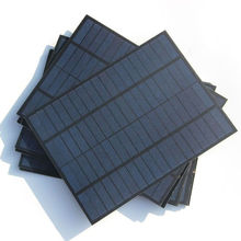 Wholesale 15PCS/Lot 5W 18V Solar Cell Polycrystalline PET Solar Panel Broad Compatibility 220*165*3MM Free Shipping