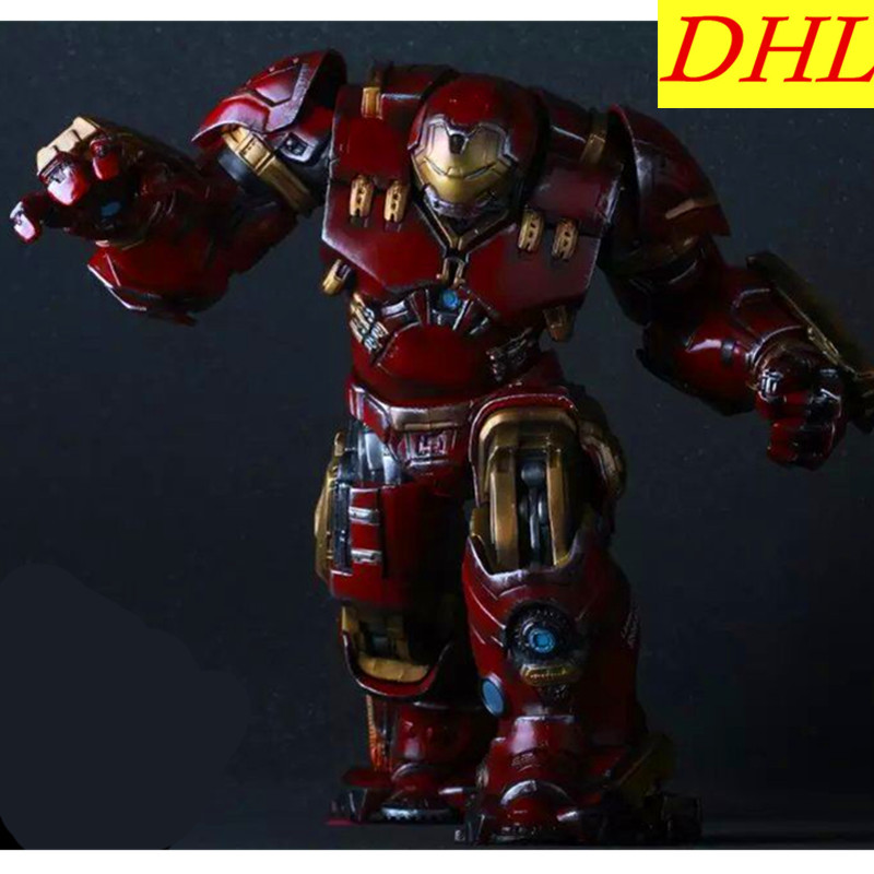 Avengers:Infinity War Superhero Iron Man Hulkbuster Tony Stark 38cm PVC Action Figure Superhero Collectible Model Toy L2103 стабилизатор напряжения prorab dvr 500 f