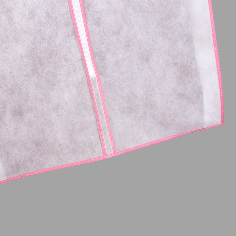 Image 5 - Wedding Bridal Dress Robe Garment Clothes Storage Protective Bag Case White Waterproof Dustproof Cover Non woven Craft AC020-in Clothing Covers from Home & Garden