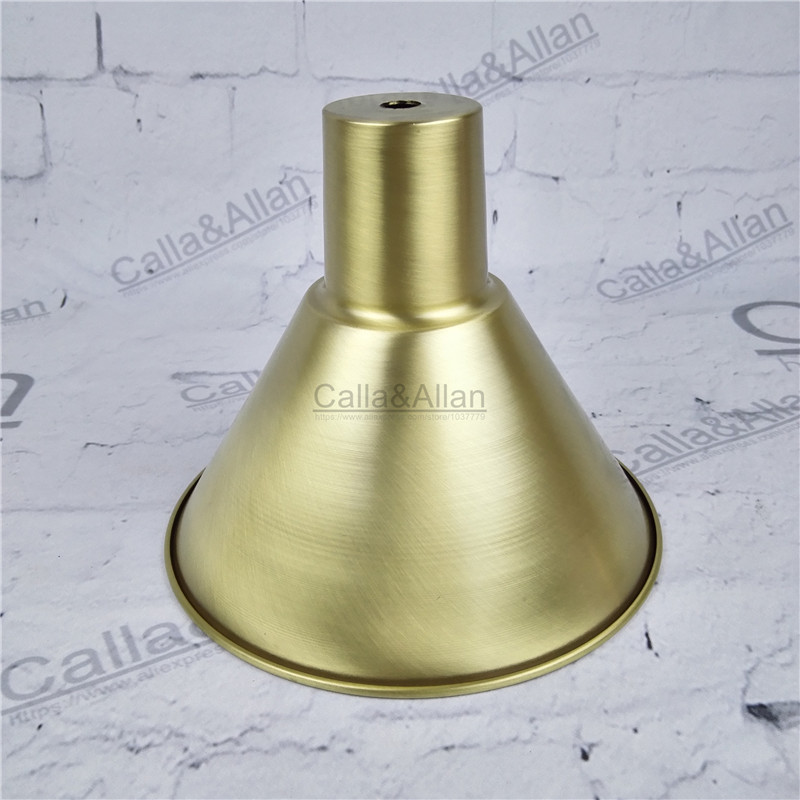 Free ship M10 D170mmX140mm brass material light cover copper cup shade quality E27 lamp shade cover lighting brass shade cone free shipping m40 d200mmx50mm brass material light cover copper cup shade quality e27 lamp shade cover lighting brass shade cone