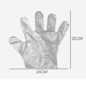 Image 4 - 1 팩 50/100pcs 에코 친화적 인 주방 장갑 일회용 체육 장갑 일회용 청소 장갑 음식 청소 요리 손 장갑