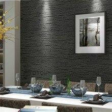 Gramscloth papel de parede moderno simples, efeito texturizado liso, para quarto, sala de estar, decoração da casa, cinza escuro