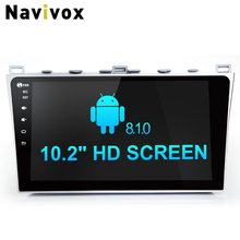 "Navivox 10.2"" HD Android 8.1.0 Car GPS Navigation Stereo Video Player For Mazda 6  2008-2015 With Canbus Ram2G Rom32G  RDS/DAB"
