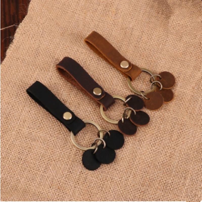 1pc Detachable Keychain Loop Key Holder Leather Belt Key Chain Keychain Car Pendant Keyring Bbb0199 Key Chains Aliexpress