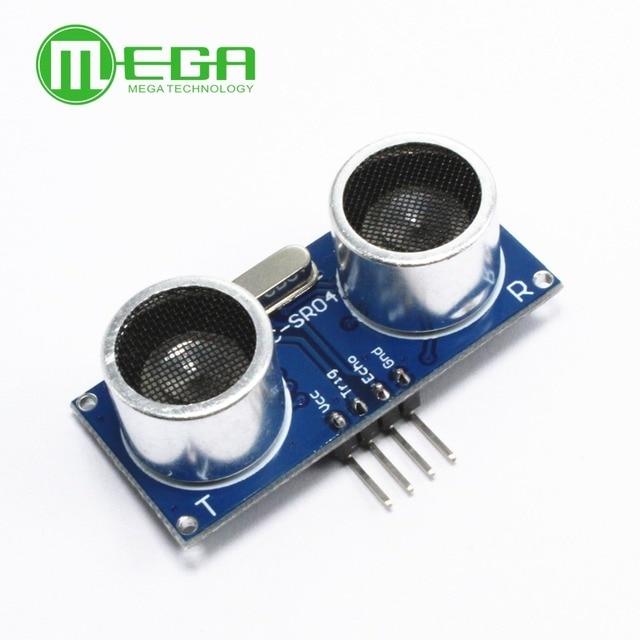 Megmoki 10pcs Ultrasonic Module HC-SR04 Distance Measuring Transducer Sensor HY-SRF05 5pin