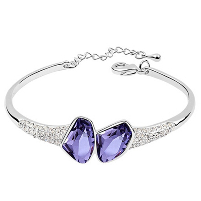 Twins crystal pandent fashion Crystal bracelet