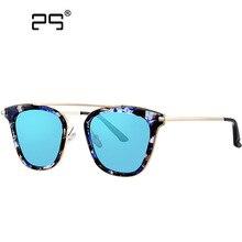 New retro gafas de sol de las mujeres tops de la moda 2017 gafas de mujer de marca diseñador de Lentes de Espejo de los ojos Gafas de sol mujer 0914
