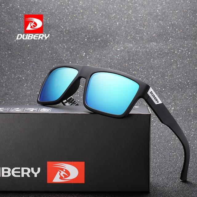 50bbdf6858 DUBERY 2018 Polarized Sunglasses Men Women Driving Sport Sun Glasses For Men  High Quality Luxury Brand