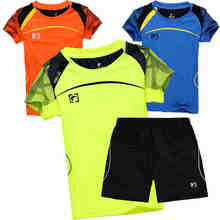 Child Badminton Shirt Short Boys Girl Sportswear Tenis Set Volleyball Table Tennis Clothes Quick Dry Junior Teenager Sport Suits(China)