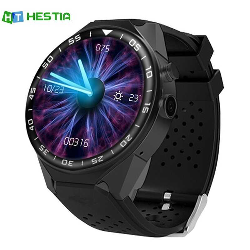 HESTIA 3G Android Smart Watch S99C Wristwatch 1GB Ram MTK6580 16G Rom Quad Core 5.0MP Camera Pedometer Heart Rate Wifi GPS SIM no 1 d6 1 63 inch 3g smartwatch phone android 5 1 mtk6580 quad core 1 3ghz 1gb ram gps wifi bluetooth 4 0 heart rate monitoring