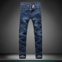 Primary color jeans Small straight man s jeans Pants men fashion boy jeans new trousers boy