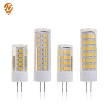 LED Lamp G4 led bulb AC 220V 3W 4W 5W 7W SMD 2835 LED Ceramics G4 Replace Halogen Light Chandelier