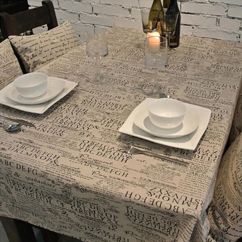 Western Style Linen Cotton Table Cloth Jute Tablecloth Vintage Rustic Life  For Table Desk Oven Closet Dust Proof Supplies From Reliable Cotton Table  Cloth ...