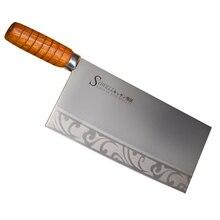 Sowell Marke 9 Zoll Hackmesser 3cr14 Edelstahl Sharp küche Messer Für Hacken Knochen Fleisch Cleaver Kochen Tools Beste geschenk