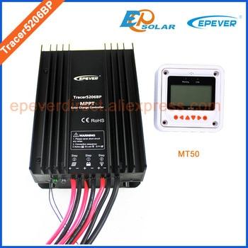 20A MPPT Controller EPEVER EPsolar Battery charger 12V 24V system MT50 remote Meter Tracer5206BP 20amps solar controller