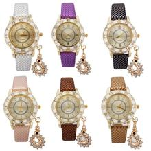 Wonderful Women Round Dial Faux Leather Strap Snake Pattern Analog Quartz Wrist Watch цены