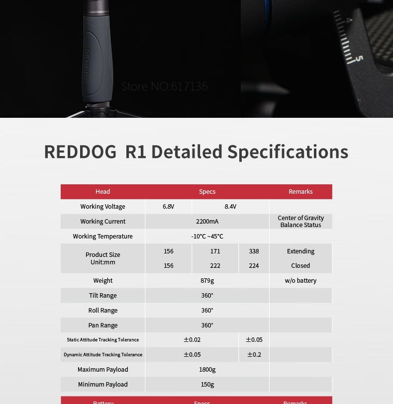 REDDOG R1 20