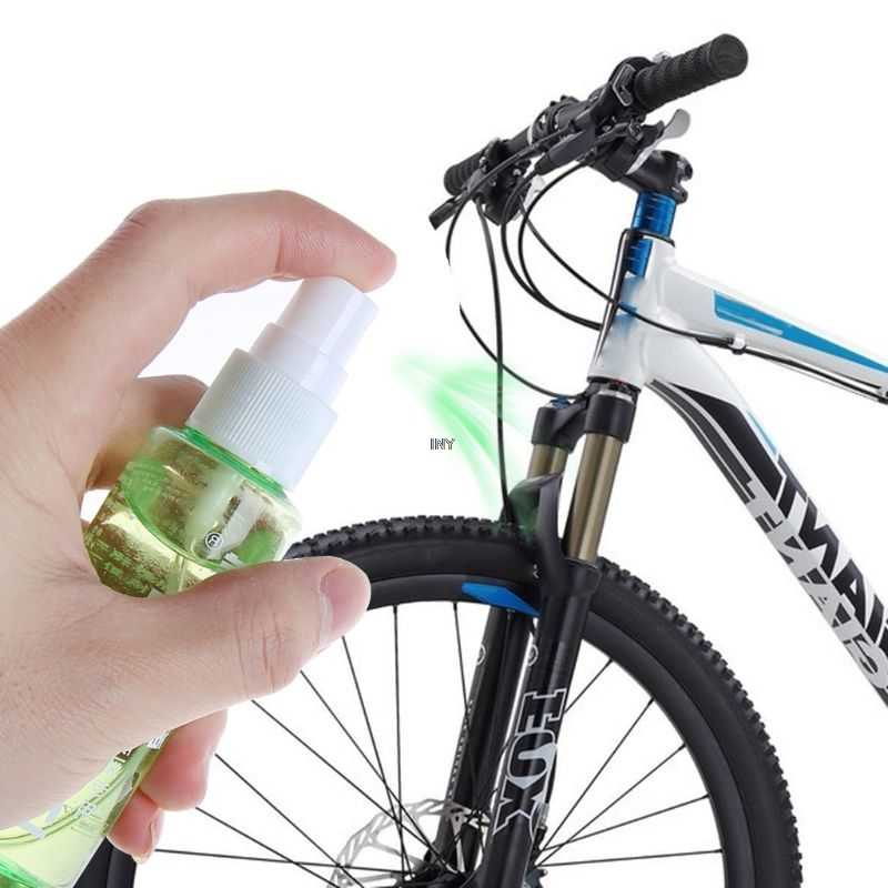 60ml Spray Bicycle Lubricant MTB Mountain Bike Front Fork Oil Cycling Damping Special Oil INY