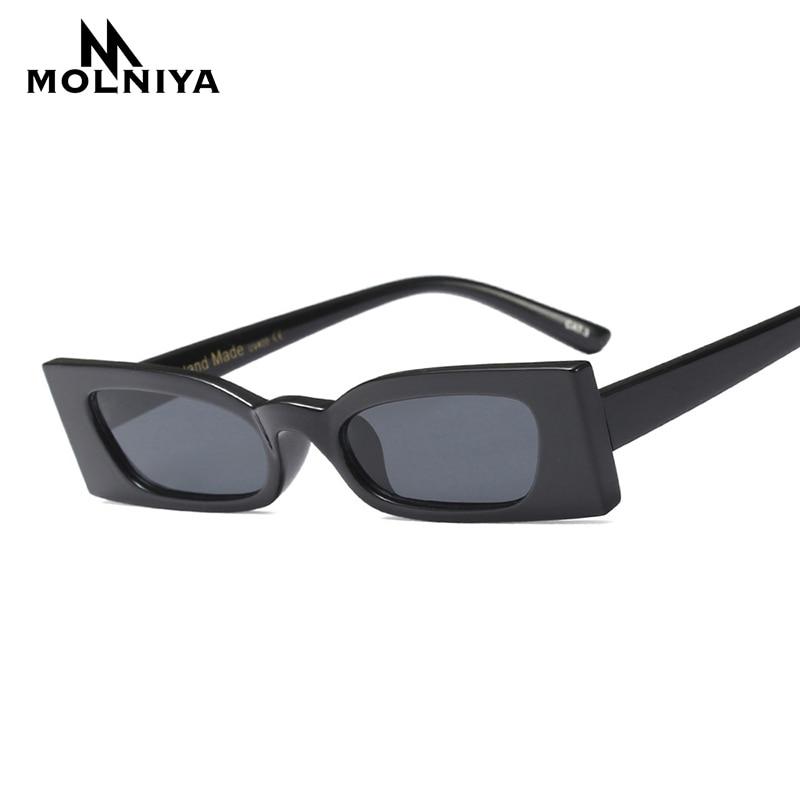 MOLNIYA New Vintage Rechteck Sonnenbrille Frauen Katzenauge Full - Bekleidungszubehör - Foto 2