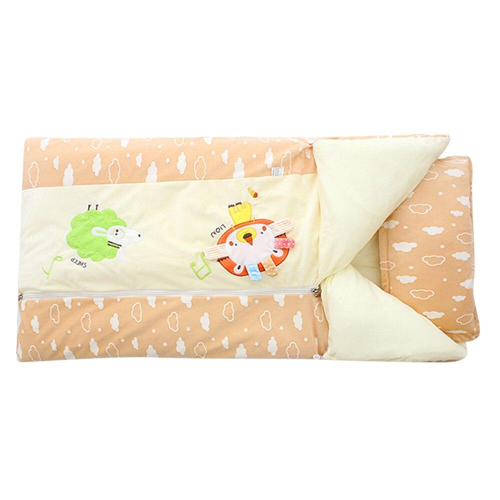 128*100CM Baby Infant Sleeping Bags Bedding Kids Sack Toddler Winter Cartoon Soft Bed Wrap Thick Warm Sacks128*100CM Baby Infant Sleeping Bags Bedding Kids Sack Toddler Winter Cartoon Soft Bed Wrap Thick Warm Sacks