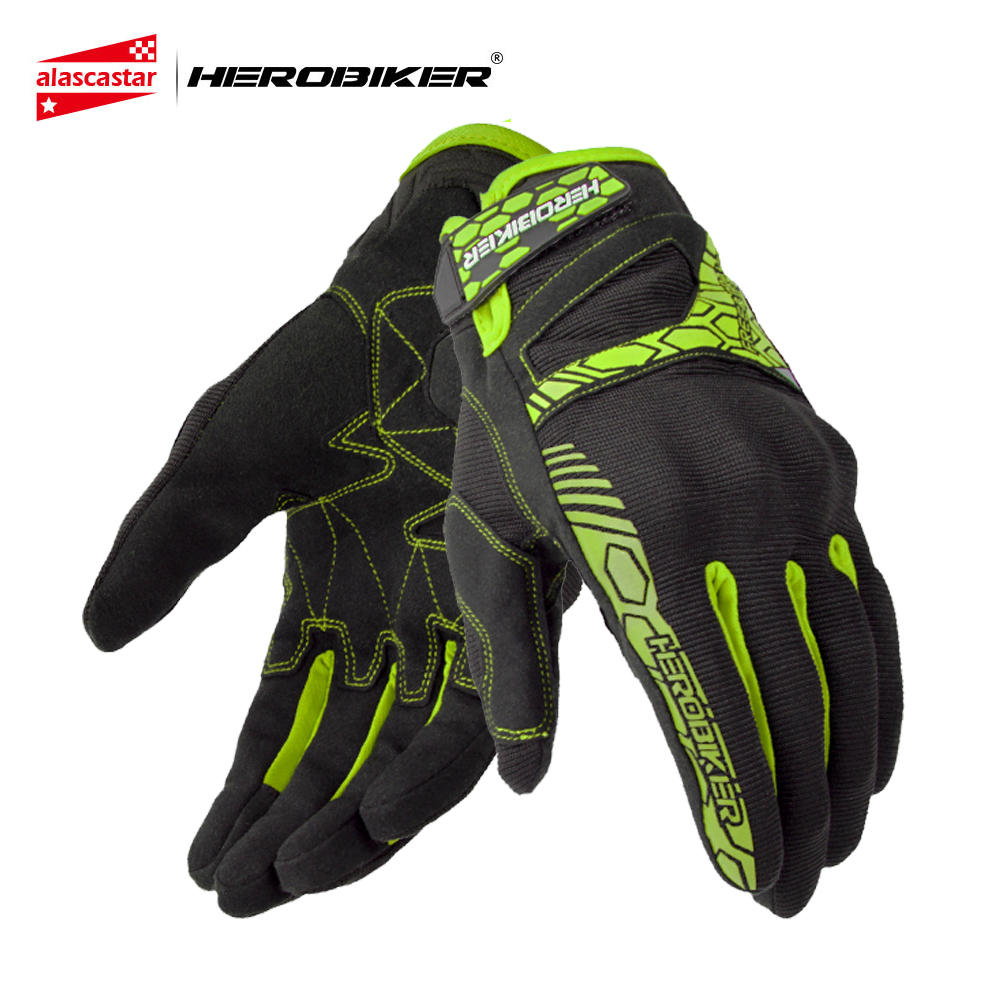 Herobiker Motorcycle Gloves Off Road Racing Gloves Motociclismo Luvas De Moto Luva Moto Motocross Gloves Moto Motorbike Gloves