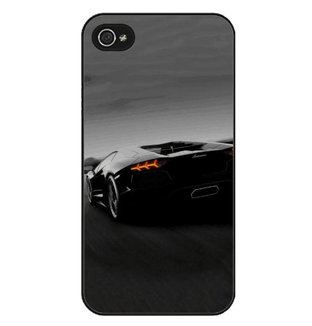 Lamborghini Car Print iPhone Case