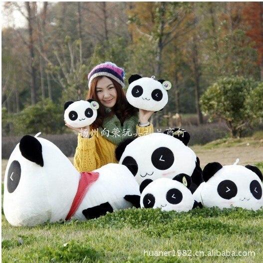Haute qualité Panda en peluche jouet en peluche poupée cadeau géant panda animal en peluche livraison gratuite 25 cm 35 cm 45 cm 55 cm 70 cm 80 cm 100 cm