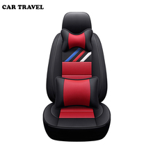 Genuine Leather auto custom car seat cover For Fiat linea grande punto palio albea uno 500 freemont auto accessories car seats недорого
