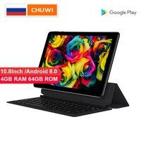 Оригинальный CHUWI Hi9 Plus 10,8 дюймов планшет MediaTek Helio X27 Дека Core Android 8,0 4GB RAM 64GB ROM экран 2k двойной 4G Tablet