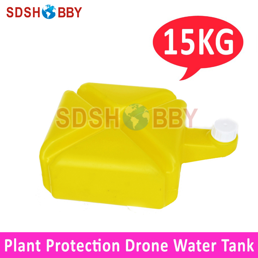 15KG Water Liquid Tank for Agricultural Plant Protection Drone Multicopter 1 2 built side inlet floating ball valve automatic water level control valve for water tank f water tank water tower