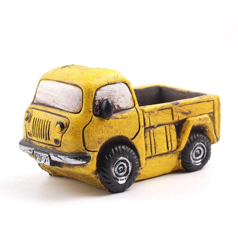 Nette Autos Silikon Form für Zement Blumentopf Beton Mould Handgemachte Dekoration Werkzeug-in Lehm-Formen aus Heim und Garten bei  Gruppe 2