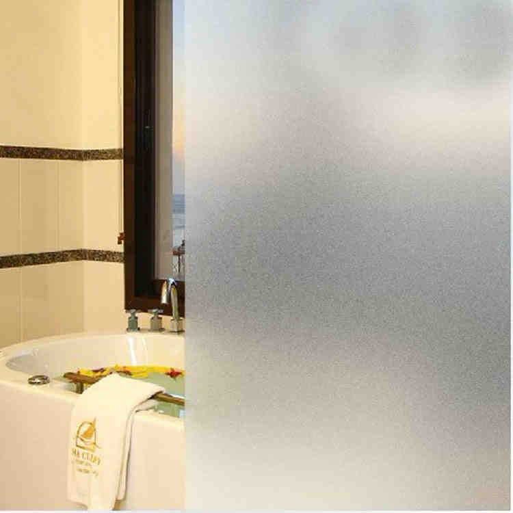 transparent opaque matte stickers glass film membrane bathroom bathroom door