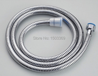 Wholesale And Retail Brass Material Double Lock1 5m Chrome Finished Bathroom Shower Faucet Plumbing Hose