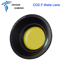 CO2 F theta Scan Lens USA Field Lens 10.6um 50x50 400x400 FL63 565mm for CO2 Laser Marking Machine Parts