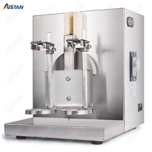 YY120-2 Electric Milk Tea Shaker Blender Machine Stainless Steel Double Head for bar equipment