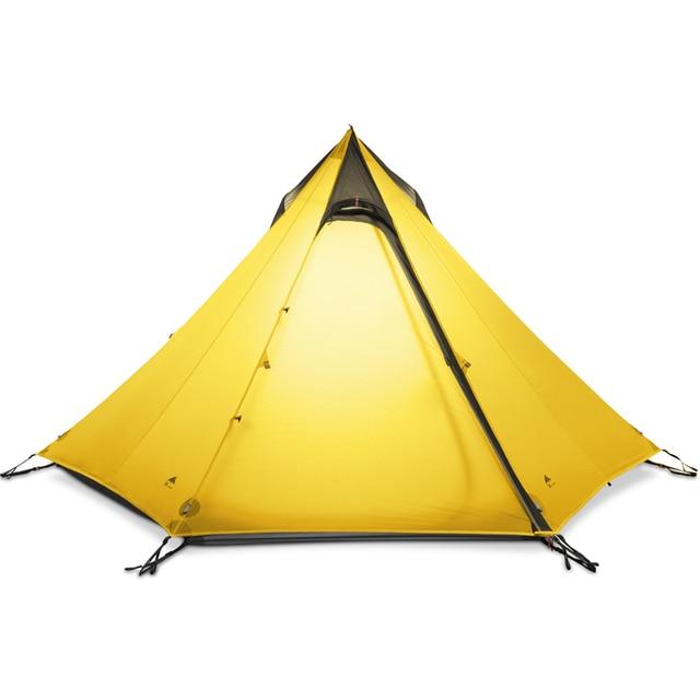 3F UL TEEPEE Pyramid Ultralight Tent 2-3 Person 15d Hiking Tents 1