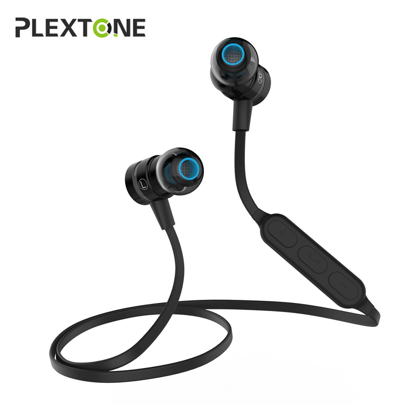 PLEXTONE BX335 Magnetic Switch Sport Stereo Bluetooth Earphone For iPhone Samsung LG HTC Handsfree Wireless Earphones Microphone universal h3 wireless bluetooth heaphone stereo headset earphone handsfree with microphone for samsung lg htc lenovo iphone asus