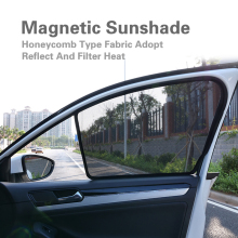 2 Pcs Magnetic Car Front Side Window Sunshade For BMW X1-E84 X3-F25 X4-F26 X5-E70 X5-F15 X6-F16 Sun Shield Sun Shade Car Curtain