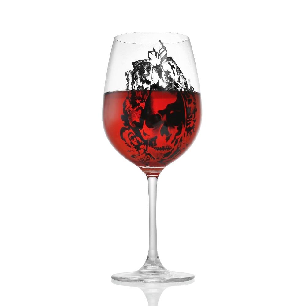 Aukštos kokybės krištolo vyno taurė su deimantų taurele - Virtuvė, valgomasis ir baras - Nuotrauka 2