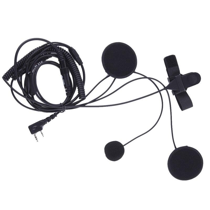 bilder für Motorrad Helm Headset universal modell Für KENWOOD Baofeng QUANSHENG WalkieTalkie Zweiwegradio CB Ham Radio Comunicador