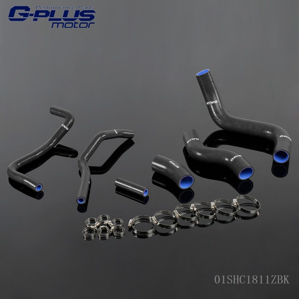 Silicone Coolant Radiator Hose Kit For 2013 Scion FRS Toyota GT86 Subaru BRZ