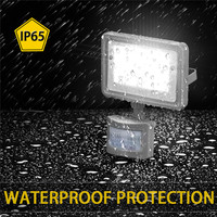 LED Flood Light 220V 10W PIR Motion Sensor Searching Light Project Lamp Outdoor Indoor Wall Lamp