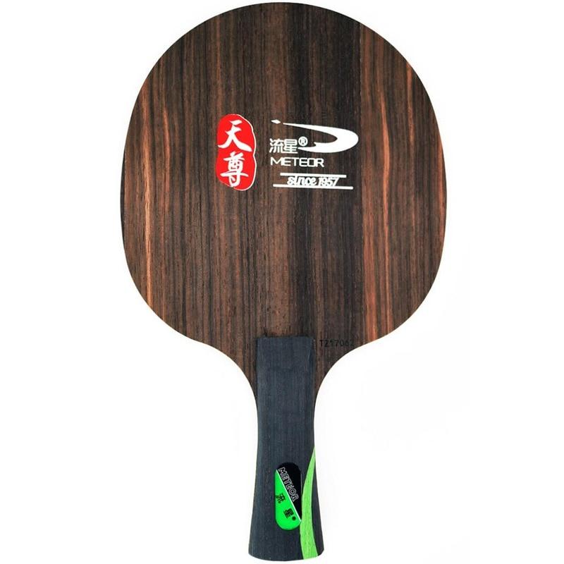 METEOR (Liu Xing) Ebony 5 PRO (TZ17062, 3+2 Ebony, Fast Attack with loop) Table Tennis Blade Racket Ping Pong Bat Paddle hrt ebony nct vii ebony vii ebonyvii table tennis ping pong blade